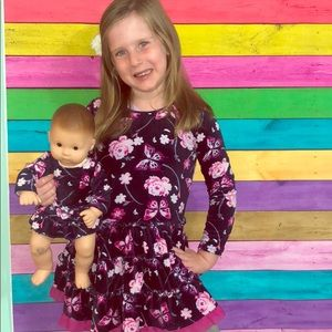Dollie & me girls 5 dress & doll matching dresses